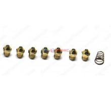 Инжекторы для сжиженного газа комплект 0,74 - 18 шт BAXI (601520)