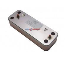Теплообменник пластинчатый для ГВС 16 пластин Baxi (5686690) - запчасть для котла