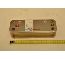 Теплообменник пластинчатый для ГВС на 20 пластин Baxi (5689930) - запчасть для котла